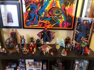DOTTOR STRANGE Marvel Comics Q-FIG Figura